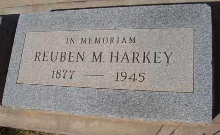 HARKEY, REUBEN M. - Pinal County, Arizona | REUBEN M. HARKEY - Arizona Gravestone Photos