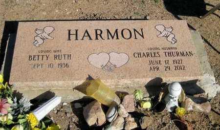 "HARMON, CHARLES THURMAN ""CHUCK"" - Pinal County, Arizona   CHARLES THURMAN ""CHUCK"" HARMON - Arizona Gravestone Photos"
