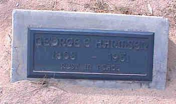 HARMSEN, GEOGE E. - Pinal County, Arizona   GEOGE E. HARMSEN - Arizona Gravestone Photos