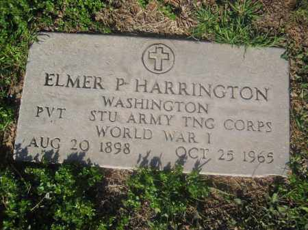 HARRINGTON, ELMER P. - Pinal County, Arizona | ELMER P. HARRINGTON - Arizona Gravestone Photos
