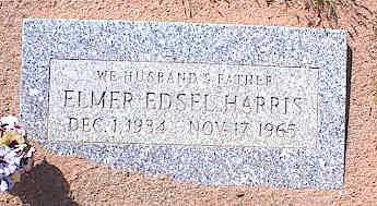 HARRIS, ELMER EDSEL - Pinal County, Arizona | ELMER EDSEL HARRIS - Arizona Gravestone Photos