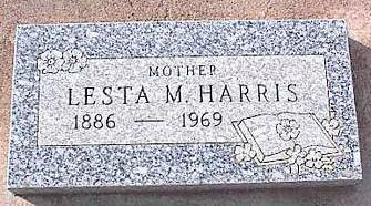 HARRIS, LESTA M. - Pinal County, Arizona | LESTA M. HARRIS - Arizona Gravestone Photos