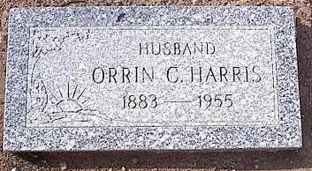 HARRIS, ORRIN C. - Pinal County, Arizona   ORRIN C. HARRIS - Arizona Gravestone Photos