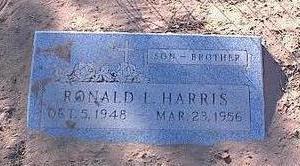 HARRIS, RONALD L. - Pinal County, Arizona   RONALD L. HARRIS - Arizona Gravestone Photos