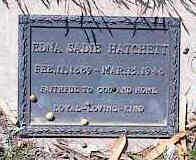 WRIGHT HATCHETT, EDNA SADIE - Pinal County, Arizona | EDNA SADIE WRIGHT HATCHETT - Arizona Gravestone Photos