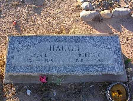 HAUGH, LYDA L. - Pinal County, Arizona | LYDA L. HAUGH - Arizona Gravestone Photos