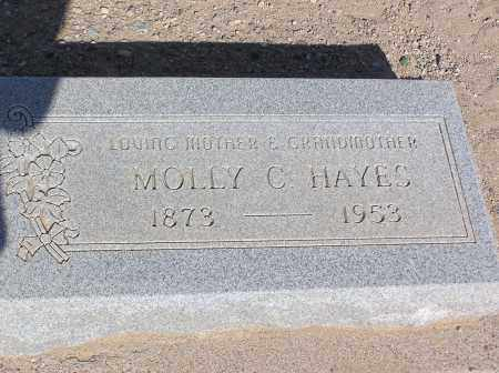 HAYES, MOLLY C - Pinal County, Arizona | MOLLY C HAYES - Arizona Gravestone Photos