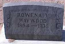 BROWN HAYWOOD, ROWENA VICTORIA - Pinal County, Arizona | ROWENA VICTORIA BROWN HAYWOOD - Arizona Gravestone Photos