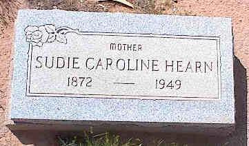 FEW HEARN, SUDIE CAROLINE - Pinal County, Arizona   SUDIE CAROLINE FEW HEARN - Arizona Gravestone Photos