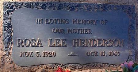 GLOVER HENDERSON, ROSA LEE - Pinal County, Arizona | ROSA LEE GLOVER HENDERSON - Arizona Gravestone Photos
