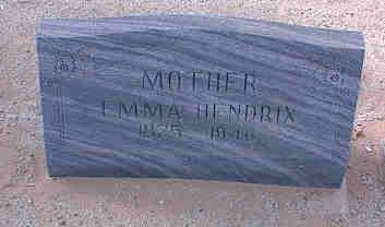 SMITH HENDRIX, EMMA - Pinal County, Arizona | EMMA SMITH HENDRIX - Arizona Gravestone Photos