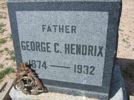 HENDRIX, GEORGE C. - Pinal County, Arizona | GEORGE C. HENDRIX - Arizona Gravestone Photos