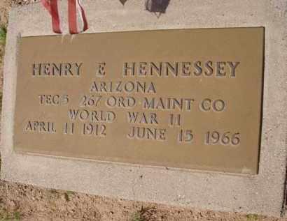 HENNESSEY, HENRY E. - Pinal County, Arizona | HENRY E. HENNESSEY - Arizona Gravestone Photos