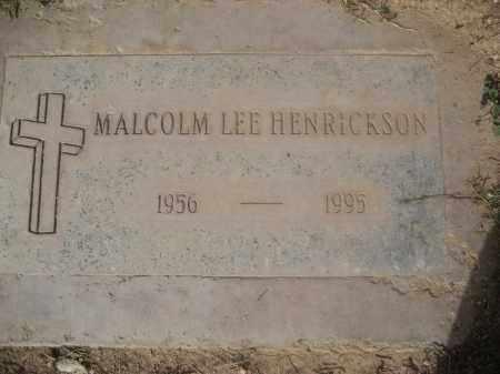 HENRICKSON, MALCOLM LEE - Pinal County, Arizona | MALCOLM LEE HENRICKSON - Arizona Gravestone Photos