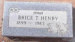 HENRY, BRICE T. - Pinal County, Arizona | BRICE T. HENRY - Arizona Gravestone Photos