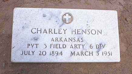 HENSON, CHARLEY - Pinal County, Arizona | CHARLEY HENSON - Arizona Gravestone Photos