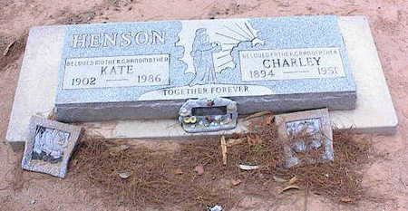 HENSON, CHARLEY - Pinal County, Arizona   CHARLEY HENSON - Arizona Gravestone Photos