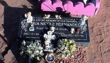 HERNANDEZ, BRIE NICOLE - Pinal County, Arizona   BRIE NICOLE HERNANDEZ - Arizona Gravestone Photos