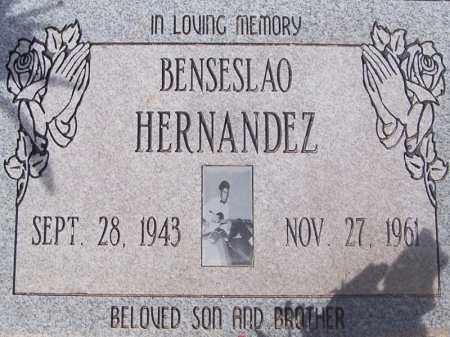 HERNANDEZ, BENSESLAO - Pinal County, Arizona | BENSESLAO HERNANDEZ - Arizona Gravestone Photos