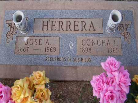 T. HERRERA, CONCHA - Pinal County, Arizona   CONCHA T. HERRERA - Arizona Gravestone Photos