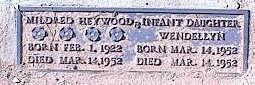 HEYWOOD, MILDRED - Pinal County, Arizona | MILDRED HEYWOOD - Arizona Gravestone Photos