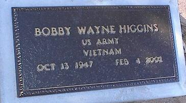 HIGGINS, BOBBY WAYNE - Pinal County, Arizona | BOBBY WAYNE HIGGINS - Arizona Gravestone Photos