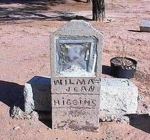HIGGINS, WILMA JEAN - Pinal County, Arizona | WILMA JEAN HIGGINS - Arizona Gravestone Photos