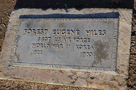 HILES, FOREST EUGENE - Pinal County, Arizona   FOREST EUGENE HILES - Arizona Gravestone Photos