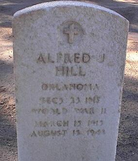 HILL, ALFRED J. - Pinal County, Arizona | ALFRED J. HILL - Arizona Gravestone Photos