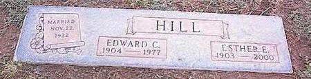 HILL, EDWARD C. - Pinal County, Arizona | EDWARD C. HILL - Arizona Gravestone Photos