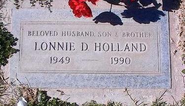 HOLLAND, LONNIE D. - Pinal County, Arizona | LONNIE D. HOLLAND - Arizona Gravestone Photos