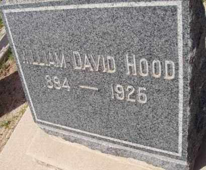 HOOD, WILLIAM DAVID - Pinal County, Arizona | WILLIAM DAVID HOOD - Arizona Gravestone Photos