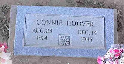MEEK HOOVER, CONNIE - Pinal County, Arizona | CONNIE MEEK HOOVER - Arizona Gravestone Photos