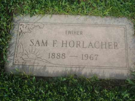 HORLACHER, SAM F. - Pinal County, Arizona | SAM F. HORLACHER - Arizona Gravestone Photos