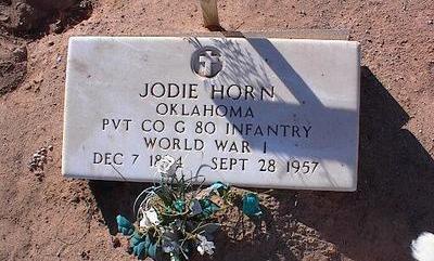 HORN, JODIE - Pinal County, Arizona | JODIE HORN - Arizona Gravestone Photos