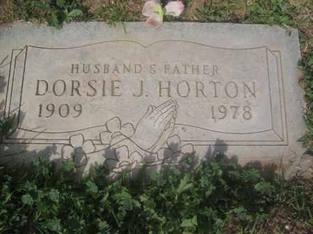 HORTON, DORSIE J. - Pinal County, Arizona | DORSIE J. HORTON - Arizona Gravestone Photos