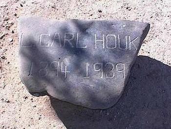 HOUK, L. CARL - Pinal County, Arizona | L. CARL HOUK - Arizona Gravestone Photos