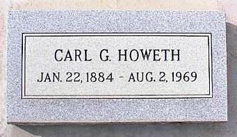 HOWETH, CARL G. - Pinal County, Arizona | CARL G. HOWETH - Arizona Gravestone Photos