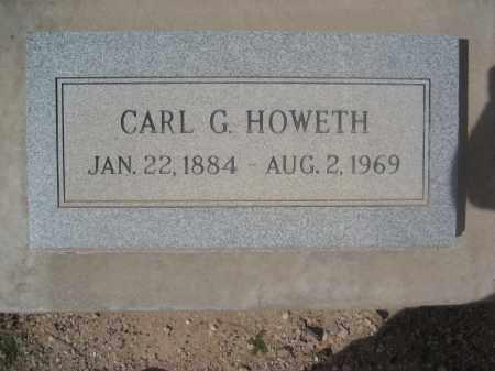 HOWETH, CARL G. - Pinal County, Arizona   CARL G. HOWETH - Arizona Gravestone Photos