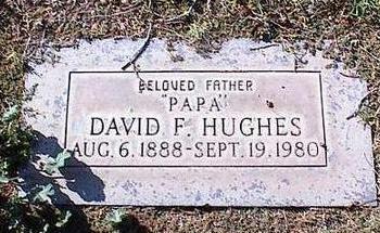 HUGHES, DAVID F. - Pinal County, Arizona | DAVID F. HUGHES - Arizona Gravestone Photos