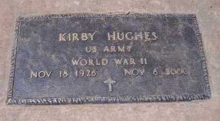 HUGHES, KIRBY - Pinal County, Arizona | KIRBY HUGHES - Arizona Gravestone Photos