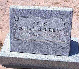 HUTCHINS, ROCILA ELLEN - Pinal County, Arizona | ROCILA ELLEN HUTCHINS - Arizona Gravestone Photos