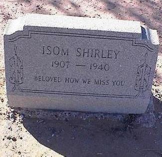 ISOM, SHIRLEY - Pinal County, Arizona | SHIRLEY ISOM - Arizona Gravestone Photos
