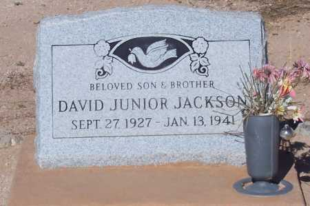 JACKSON, DAVID JUNIOR - Pinal County, Arizona | DAVID JUNIOR JACKSON - Arizona Gravestone Photos