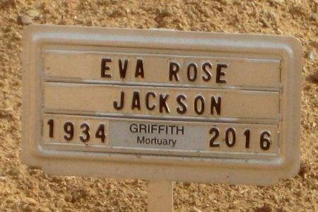 "JACKSON, EVA ROSALIE ""ROSE"" - Pinal County, Arizona   EVA ROSALIE ""ROSE"" JACKSON - Arizona Gravestone Photos"