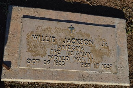 JACKSON JR, WILLIE - Pinal County, Arizona | WILLIE JACKSON JR - Arizona Gravestone Photos