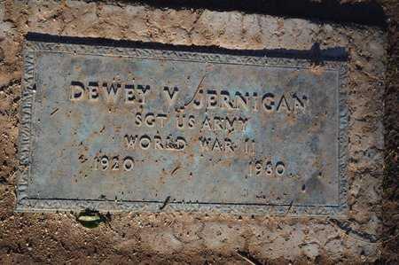 JERNIGAN, DEWEY V. - Pinal County, Arizona   DEWEY V. JERNIGAN - Arizona Gravestone Photos