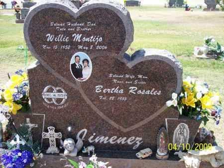 JIMENEZ, BERTHA ROSALES - Pinal County, Arizona | BERTHA ROSALES JIMENEZ - Arizona Gravestone Photos