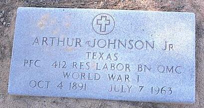 JOHNSON, ARTHUR, JR. - Pinal County, Arizona | ARTHUR, JR. JOHNSON - Arizona Gravestone Photos