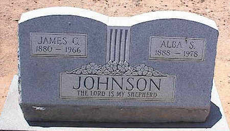 JOHNSON, JAMES C. - Pinal County, Arizona | JAMES C. JOHNSON - Arizona Gravestone Photos